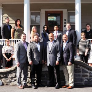 Photo of employees from The First Bank of Greenwich and Caputo & Associates