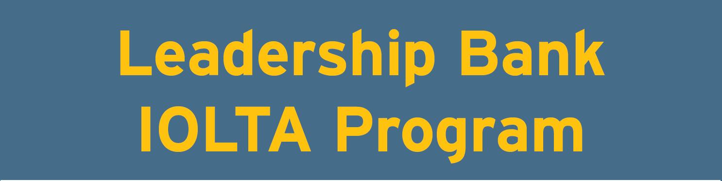 Leadership Bank IOLTA Program